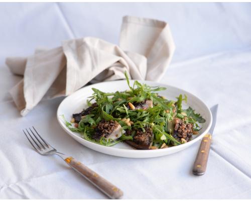 Salade Van Gegrilde Portobello